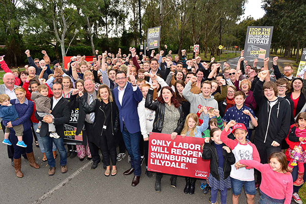 Only Labor Will Save Swinburne Lilydale